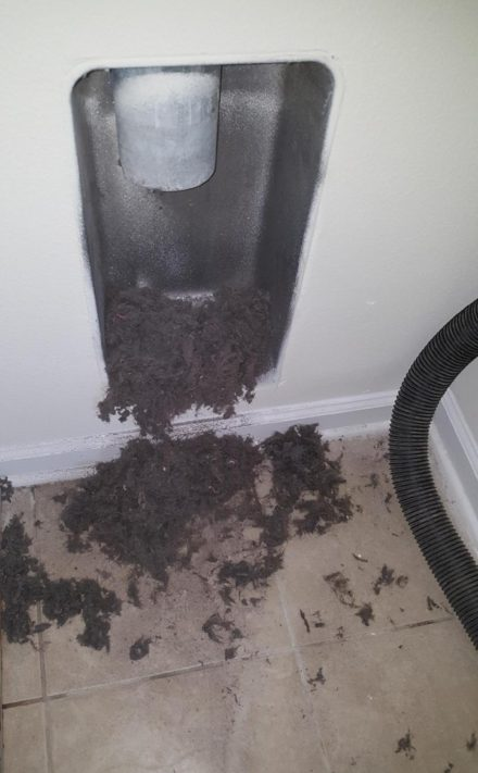 Dryer Vents Need Annual Cleaning Jacksonville Florida
